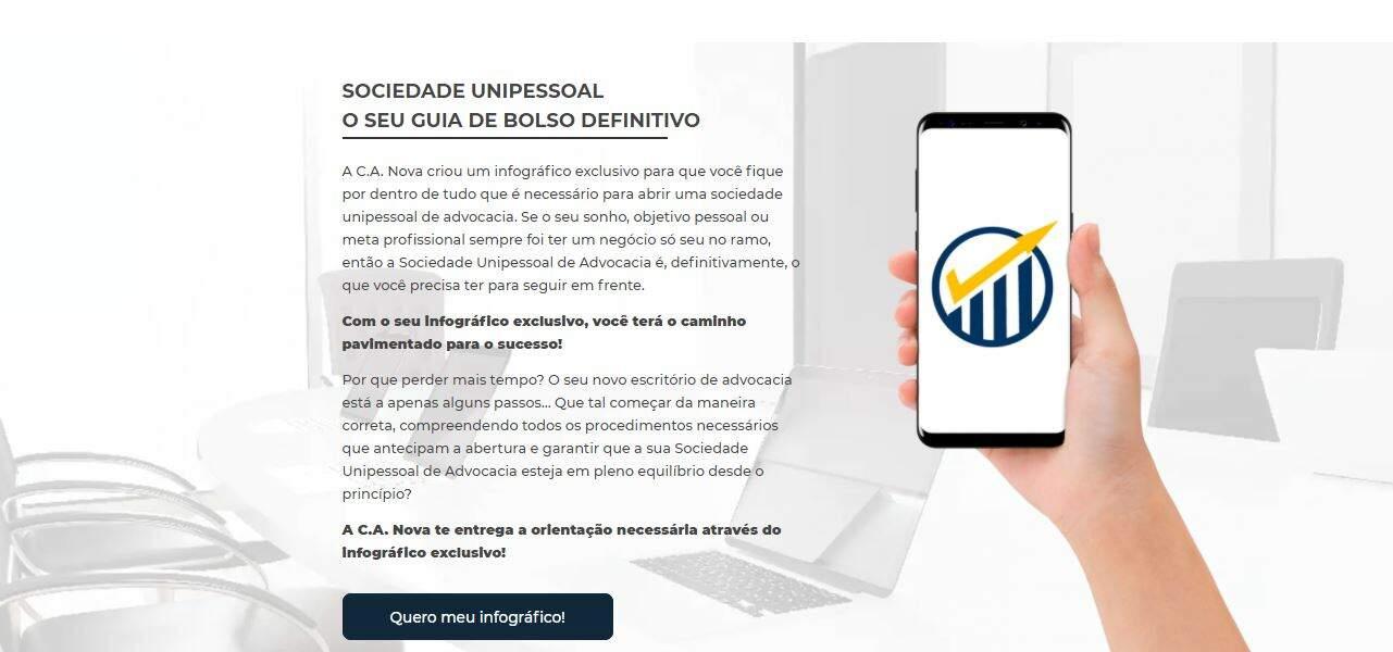 Infografico - C. A. Nova Contabil no Rio de Janeiro - RJ